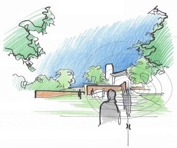 Dessin de Renzo Piano